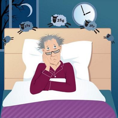 Men: Sleep Disturbances Linked to Alzheimer's Disease